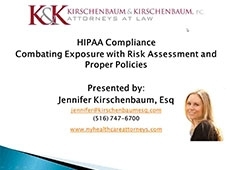 Video Thumbnail: HIPAA Compliance - Combating Exposure with Risk Assessment and Proper Policies, 28 May 2014