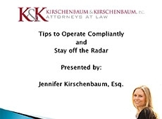 Video Thumbnail: Tips to Operate Compliantly and Stay off the Radar