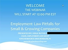 Video Thumbnail: Employment Law Pitfalls for Small and Growing Medical Practices