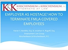 Video Thumbnail: EMPLOYER AS HOSTAGE HOW TO TERMINATE FMLA COVERED EMPLOYEES