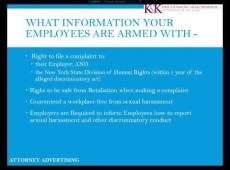 Video Thumbnail: NYS Free Sexual Harassment Policy and Complaint Form Employer BEWARE in under 6 minutes!