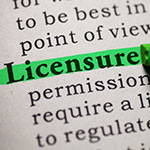 Image: Licensure
